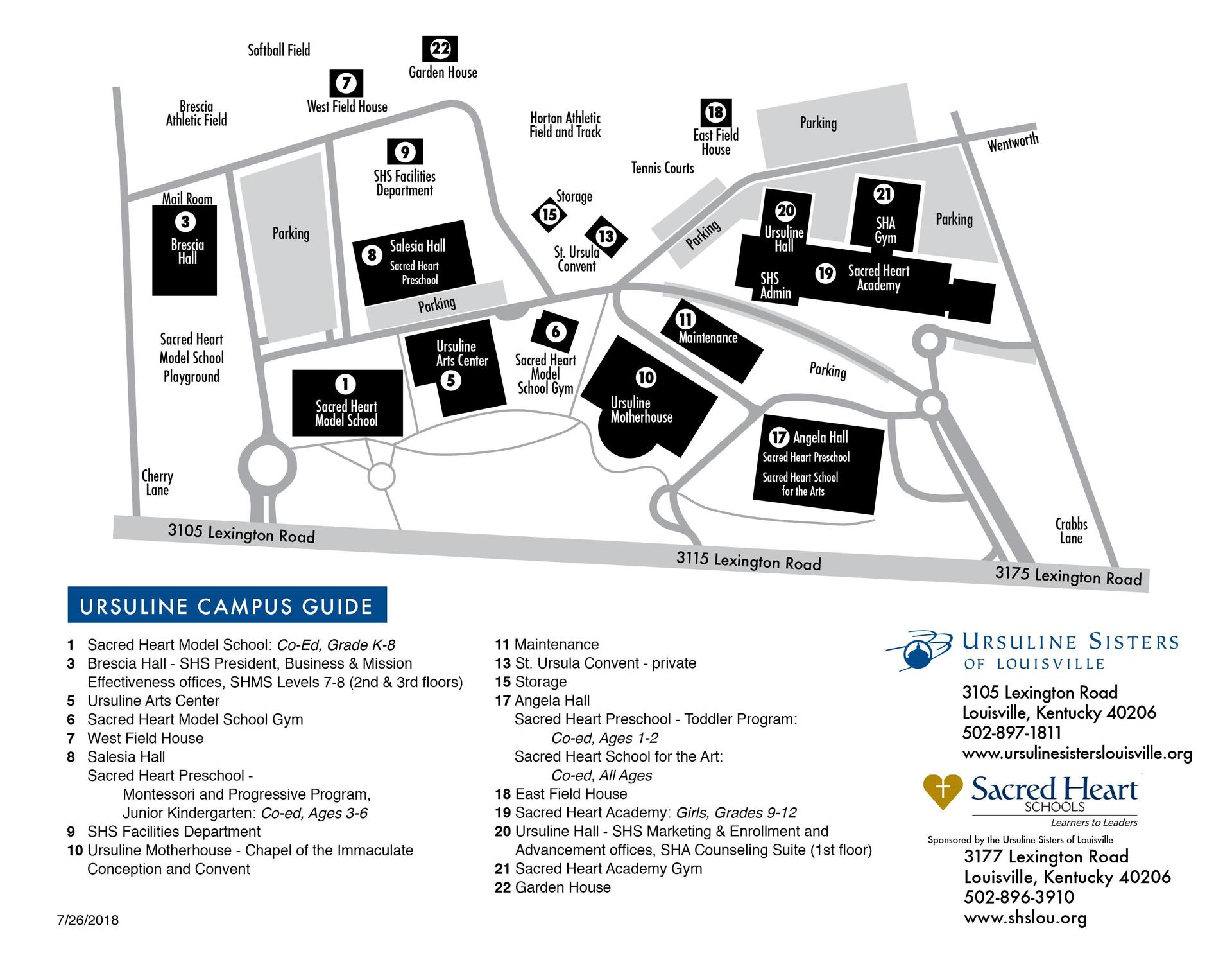 Campus Main Pages Sacred Heart Schools
