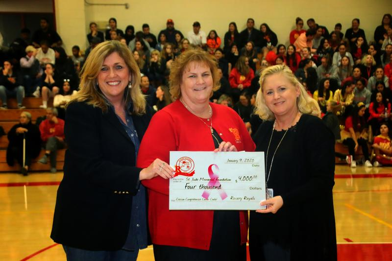 Rosary donates $4,000 to the Virginia K. Crosson Cancer Center Featured Photo