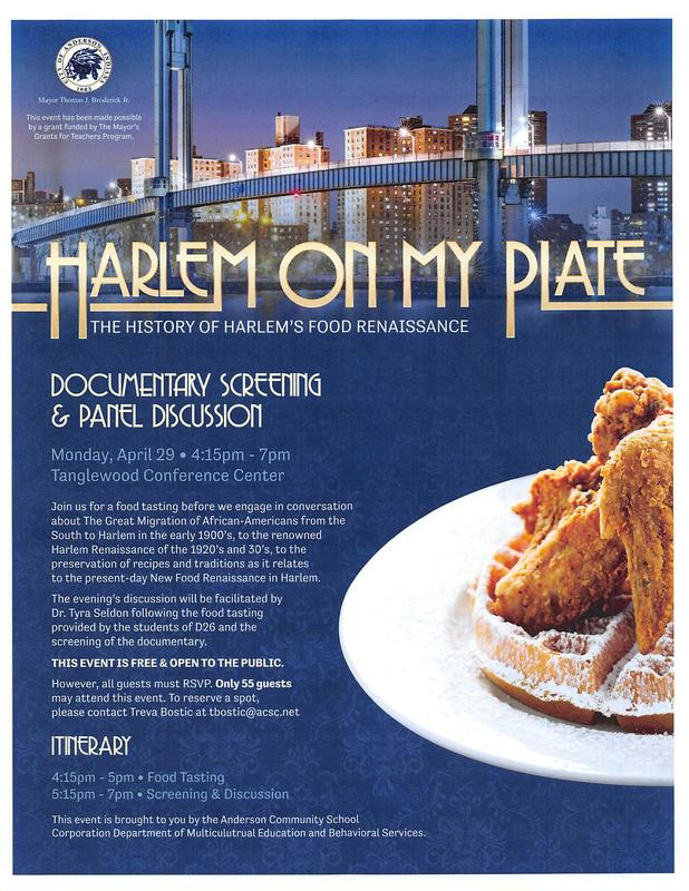 'HARLEM ON MY PLATE' Thumbnail Image