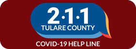 2-1-1 Tulare County COVID-19 Help Line