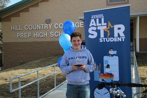 Jakson Kimball KENS 5 All-Star Student