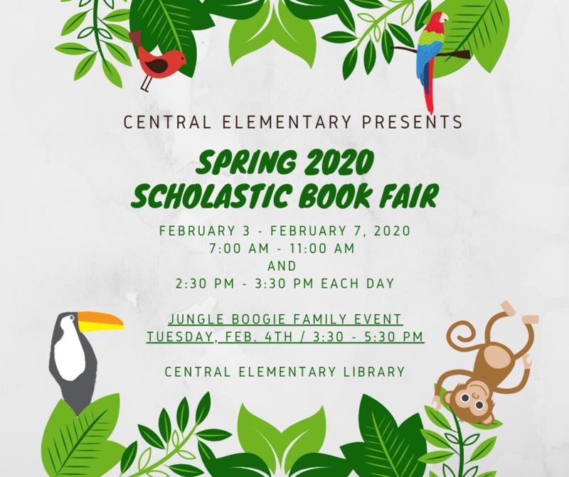 2020 Spring Book Fair