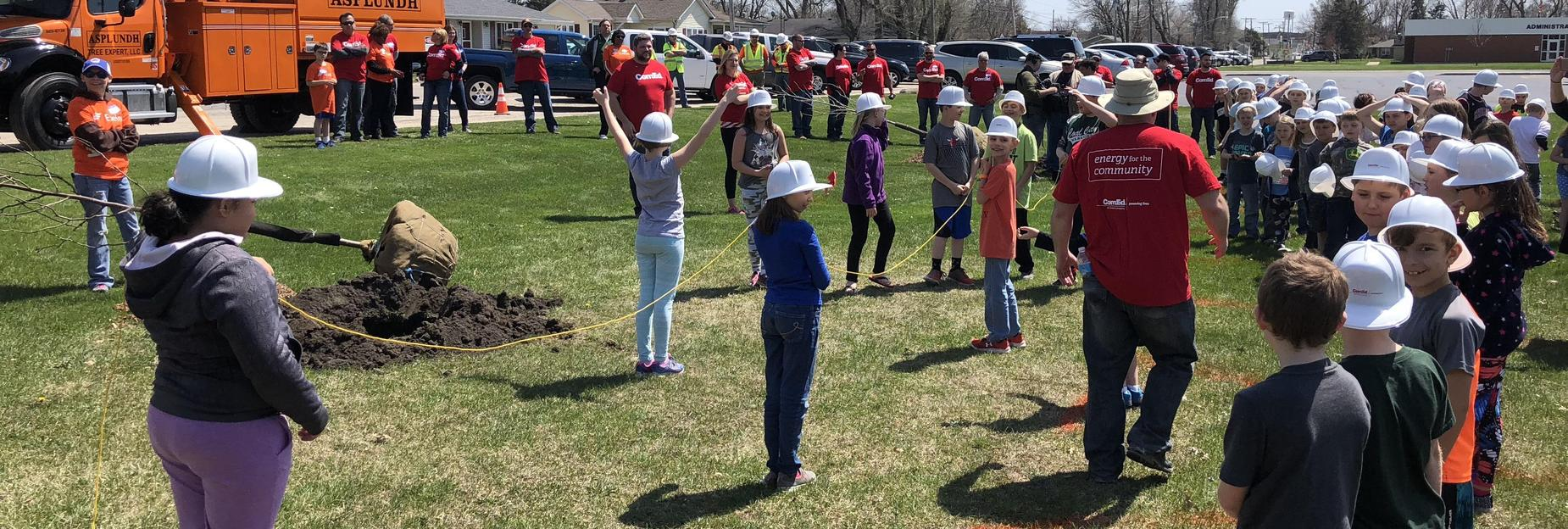 Arbor Day at CCES