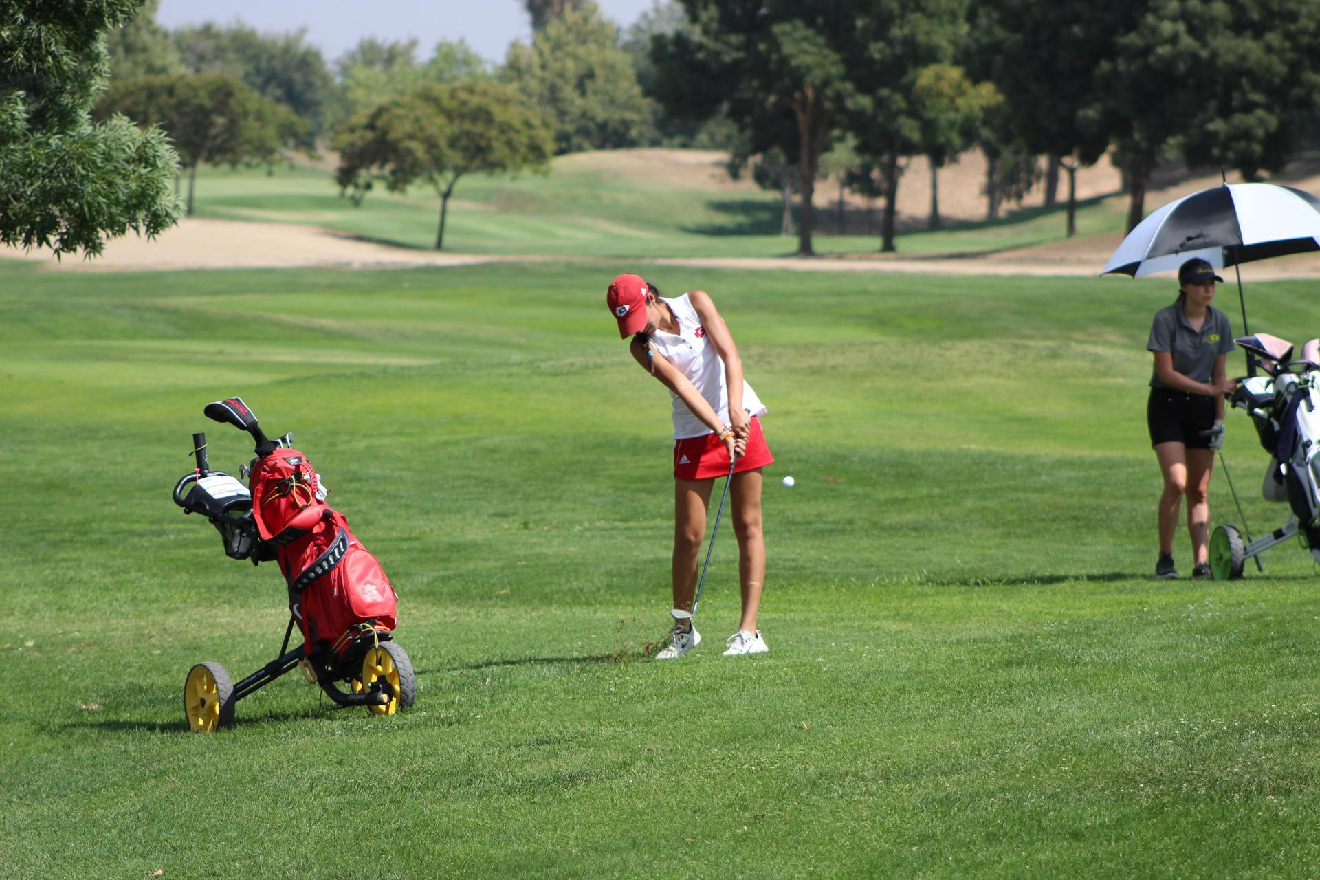 Girl's Golfing vs Sierra Pacific, August 20, 2018