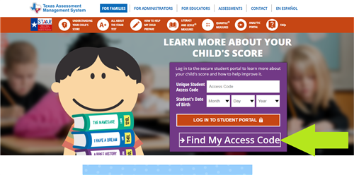 How to Access your student's STAAR and TELPAS Scores Thumbnail Image
