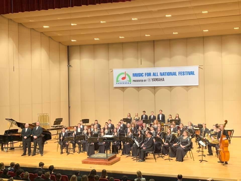 Wind Ensemble at Music For All