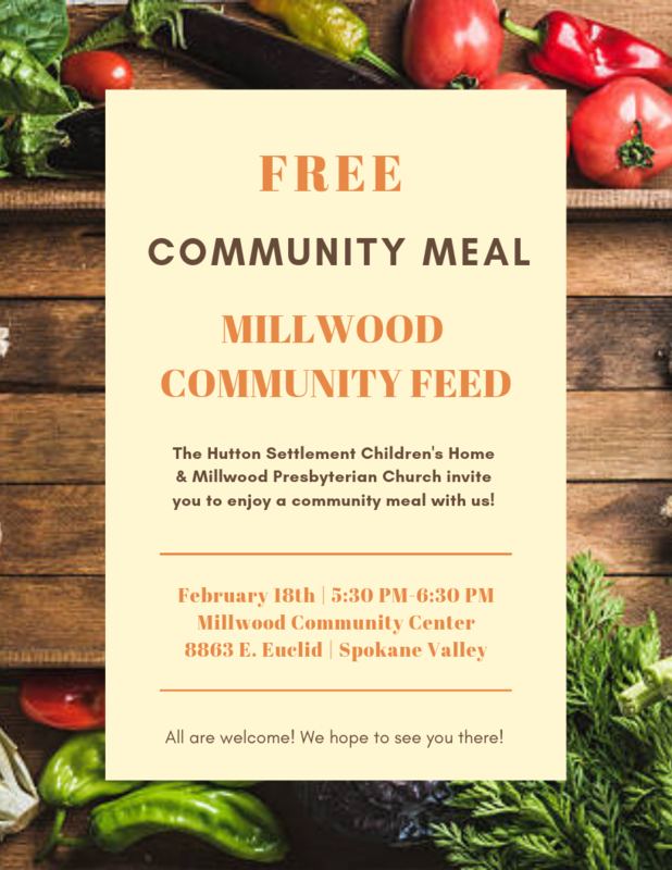 Free dinner flyer