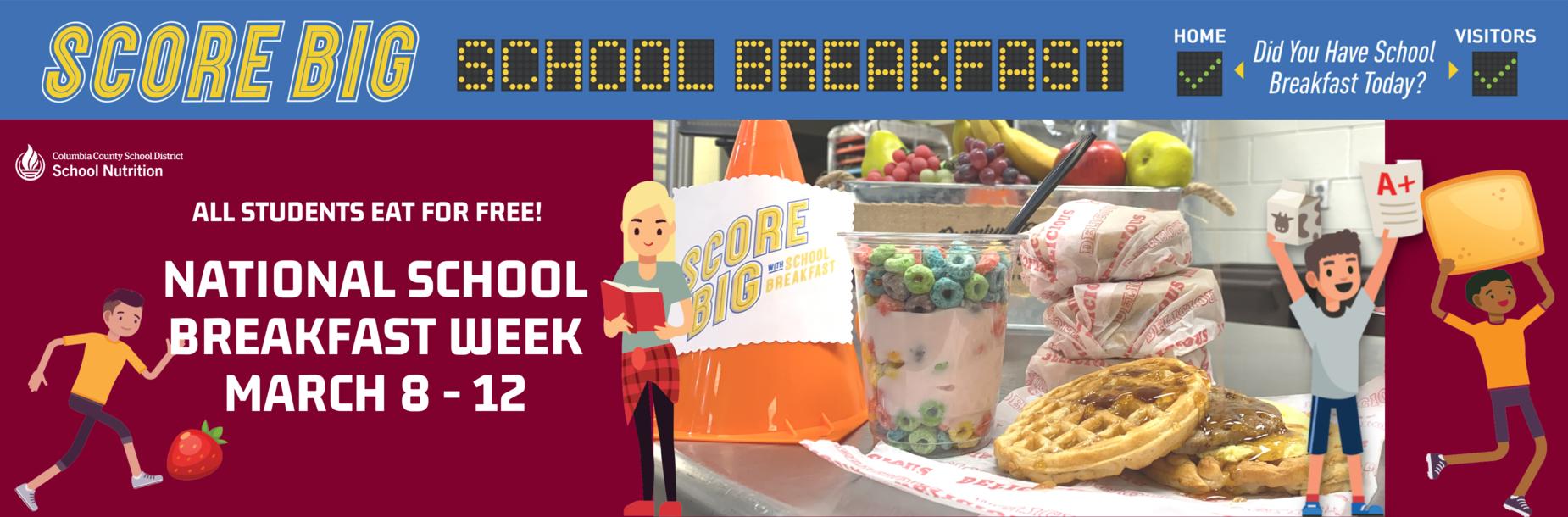 National Breakfast week 3/8-3/12