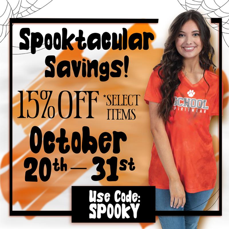 Sprit Gear Spooky Sale! Featured Photo