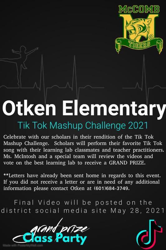 Otken Elementary Tik Tok Mashup Challenge 2021