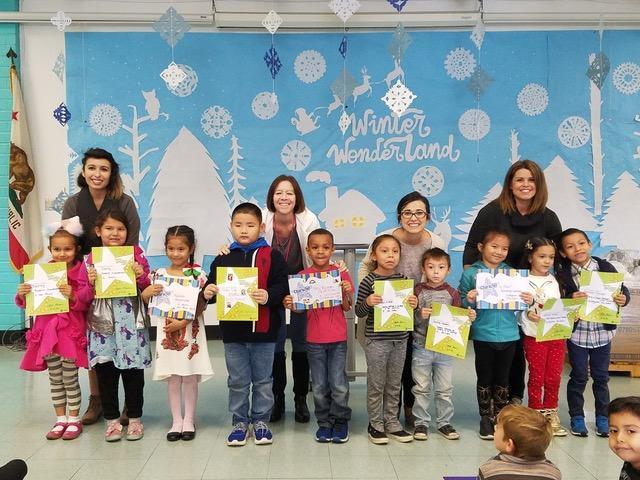 TK & Kindergarten Winners