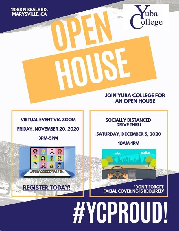 Yuba College open house