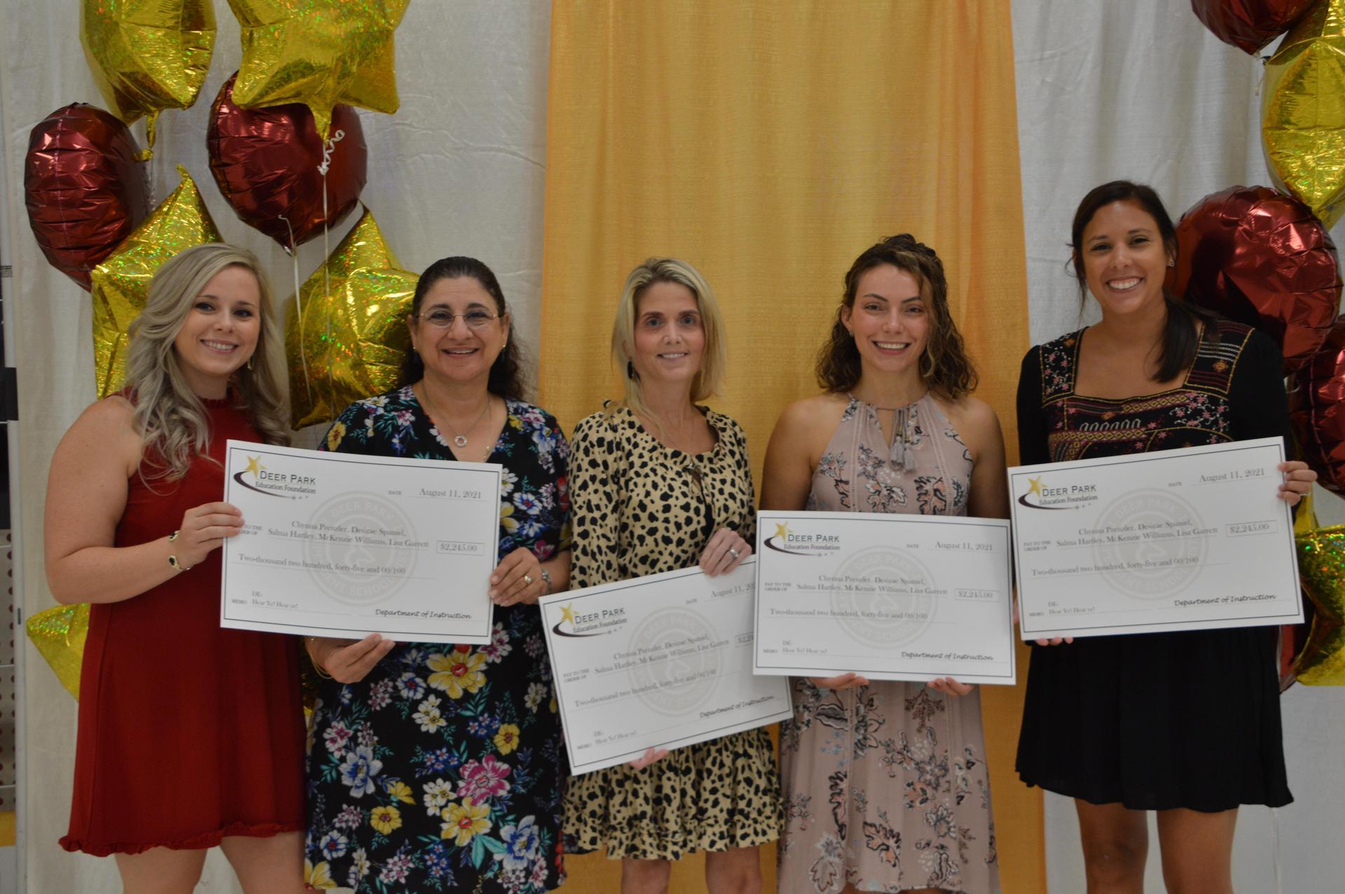 DPEF Teacher Grant Winners 1