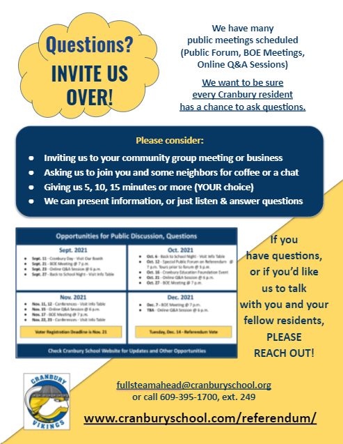 thumbnail of flyer asking for small group discussions
