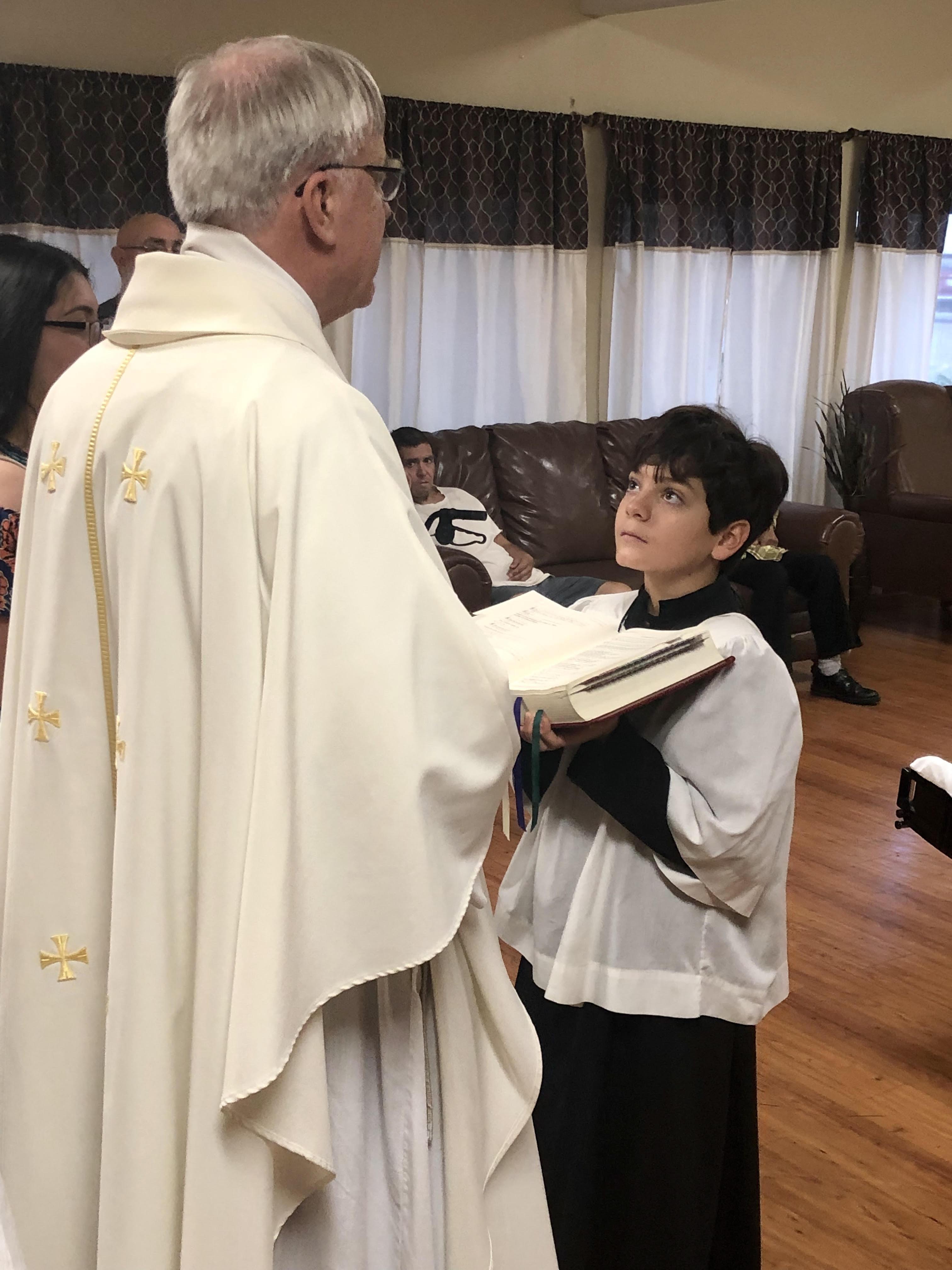 Mass at the Nursing Home
