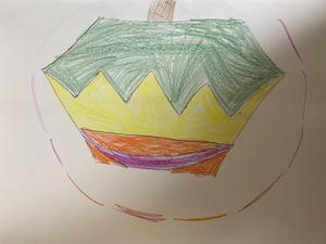 Grayson's pumpkin