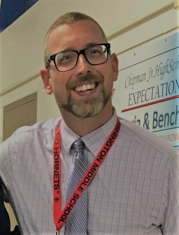 Image of Mr. Jason Walker vice Principal