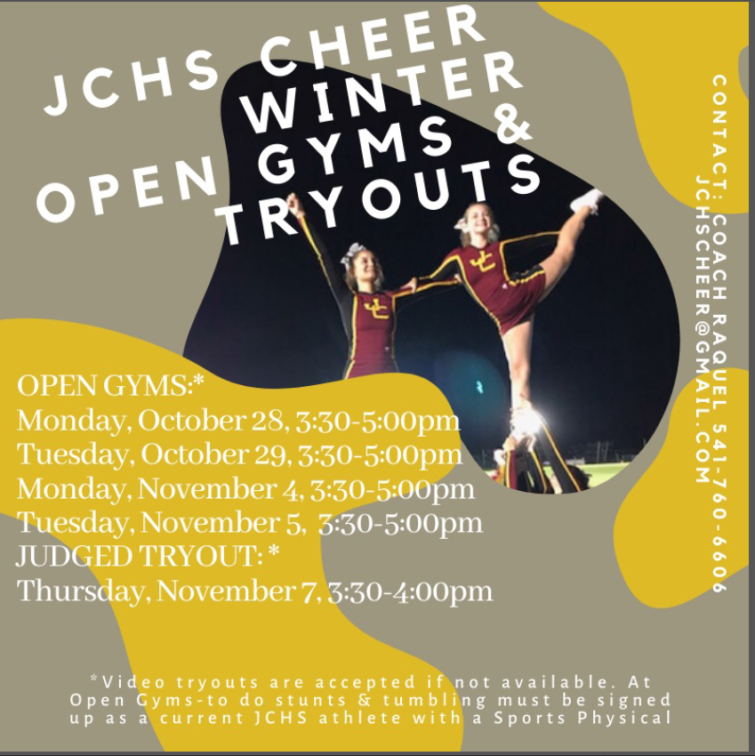 JC Winter Cheer Tryouts
