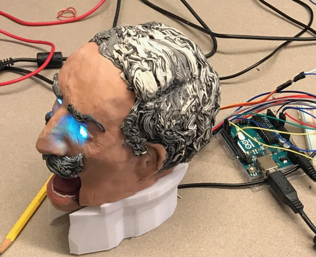 Meet Kaiser Wilhelm II.  Our history class's AI