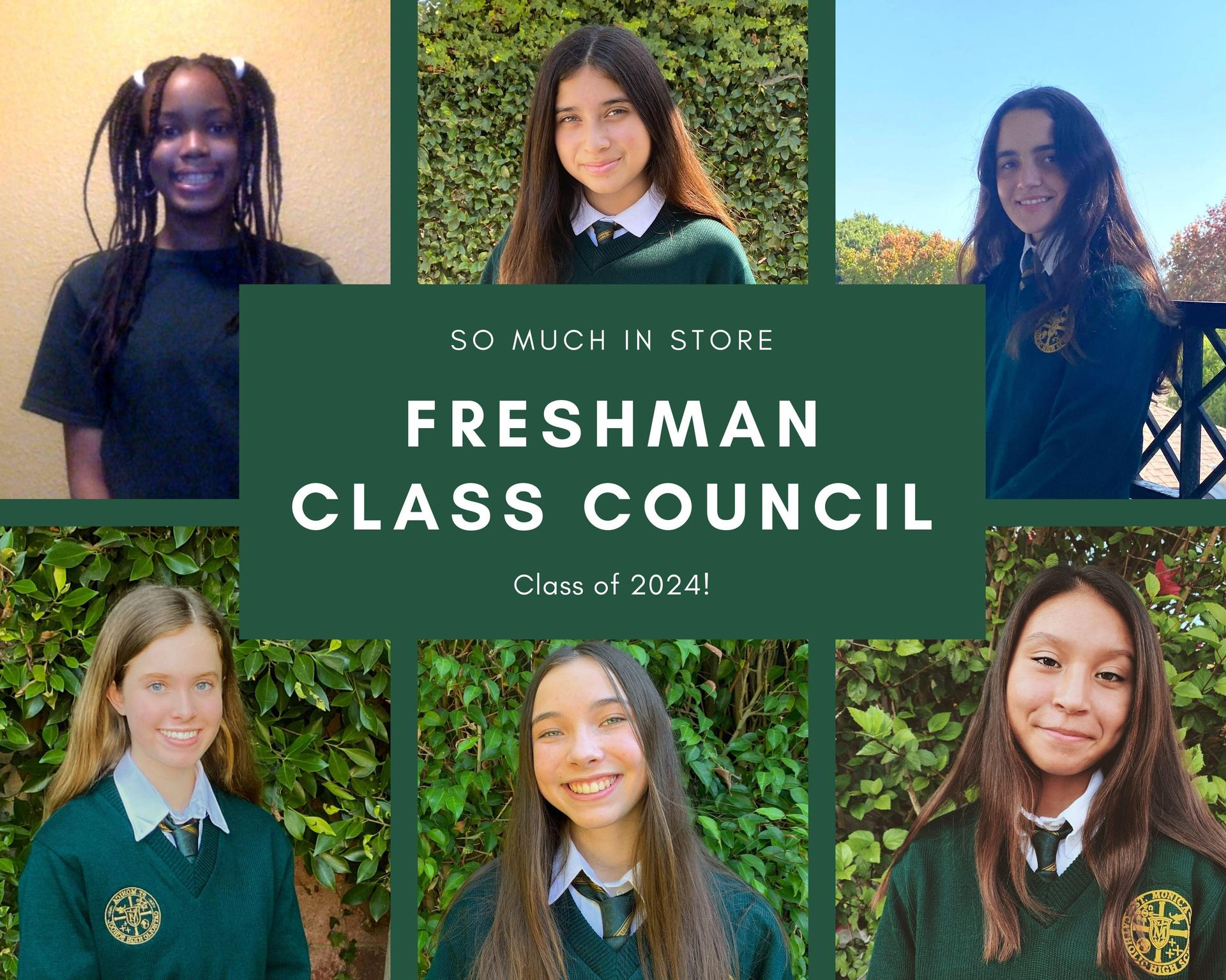 Freshman Class ('24) Council