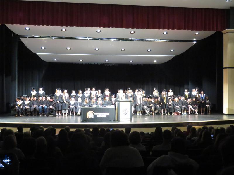 The Thornapple Kellogg High School Class  of 2019 at Senior Honors Night.