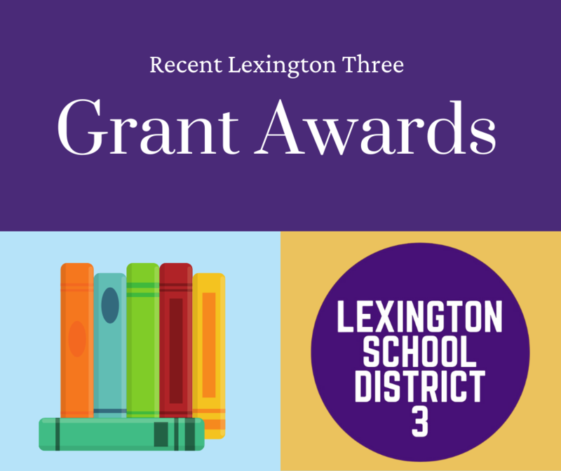 Grants Awarded to Two Lexington Three Schools