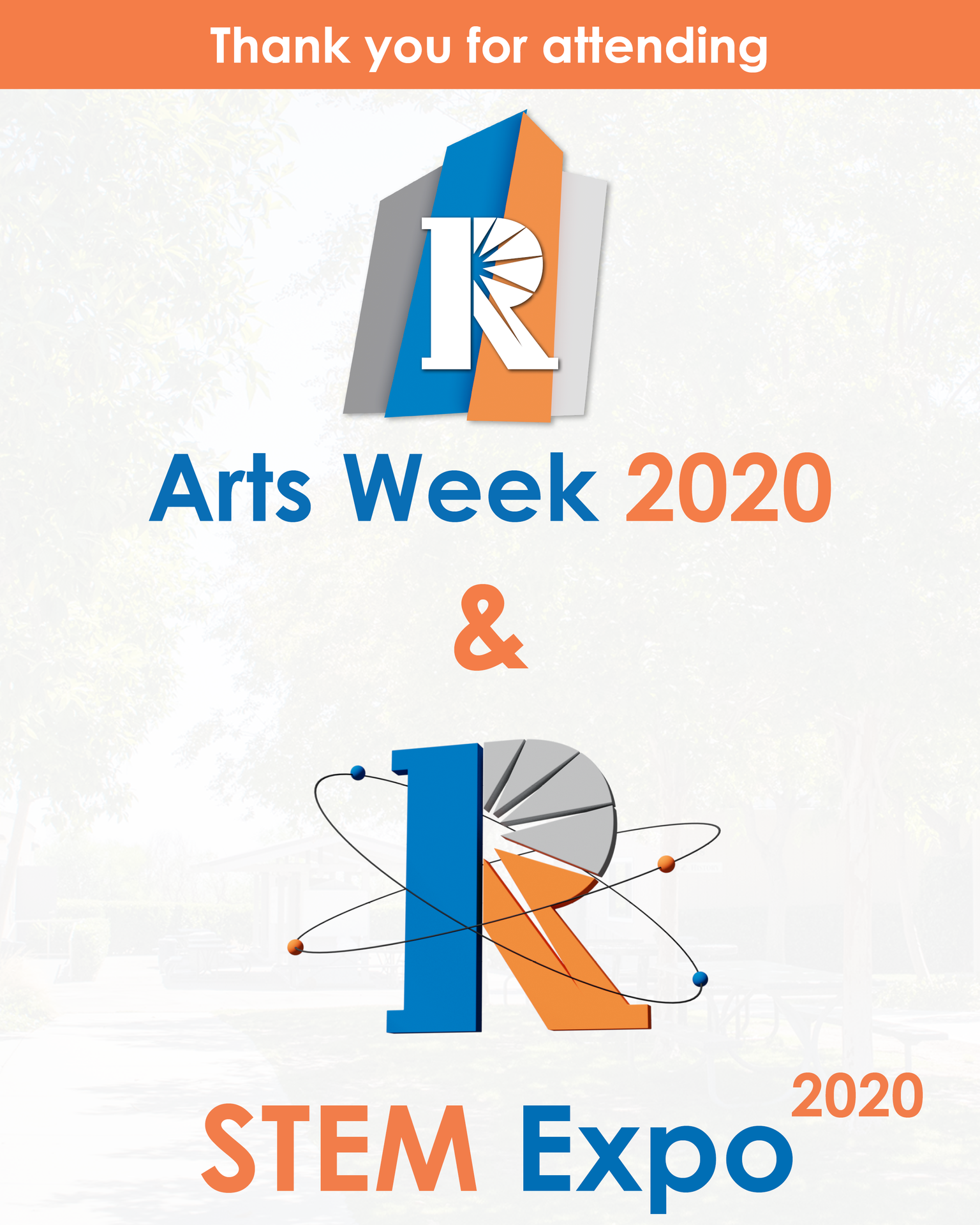 Thank you for attending Arts Week 2020 and STEM Expo 2020