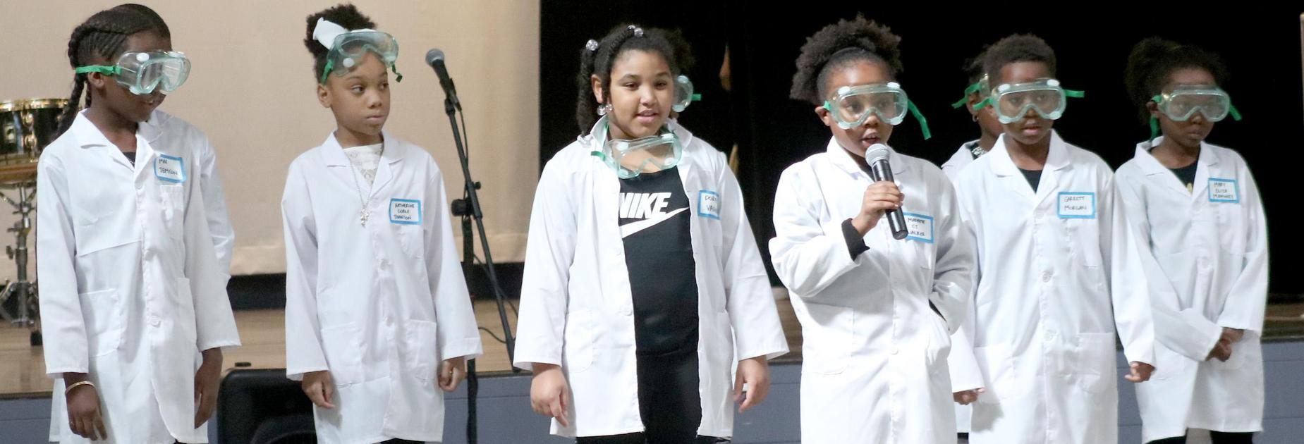 KIPP Morial students dress as famous black scientists