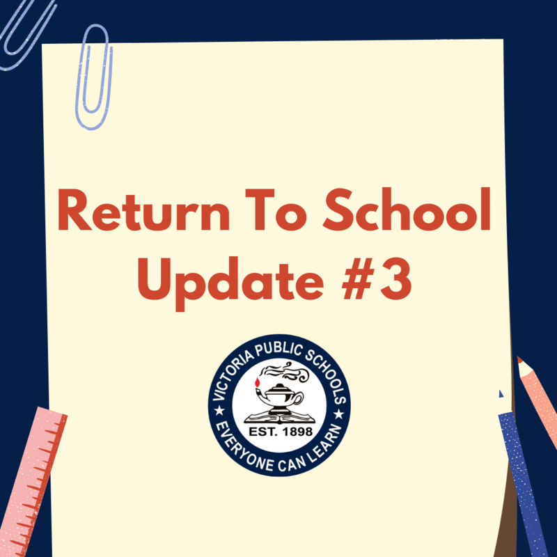 Return To School, Update # 3 Thumbnail Image