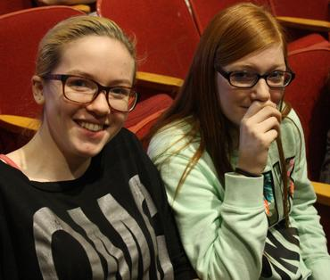 students at the attaboy concert