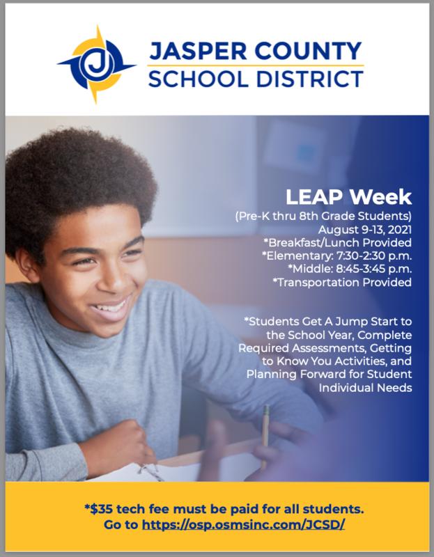 JCSD Leap Week! Featured Photo