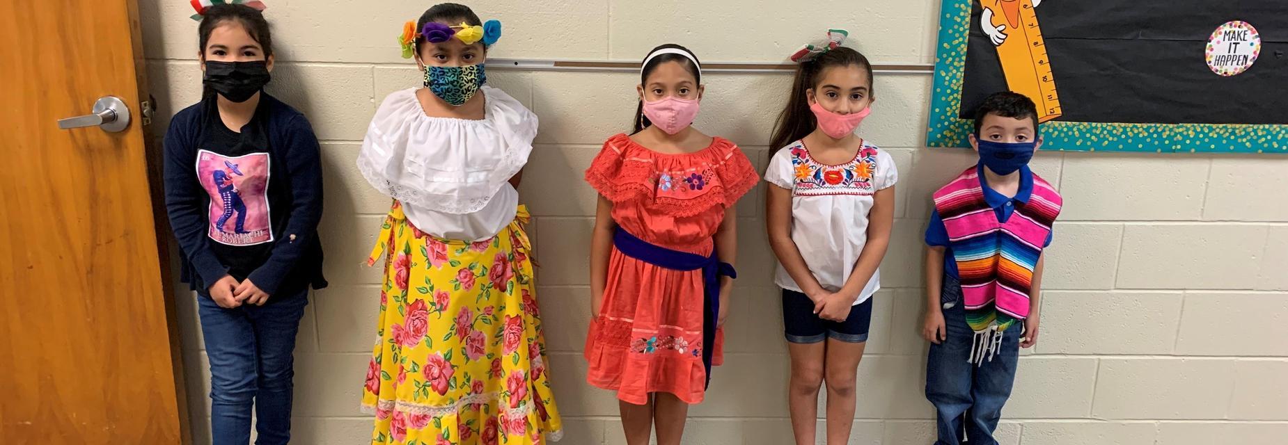 16 de septiembre second graders