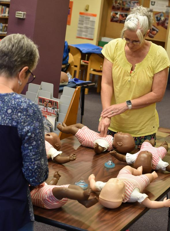 Staff at CPR & First Aid Course