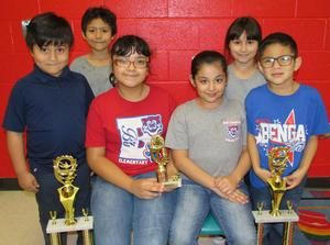 Image of District Science Fair Winners