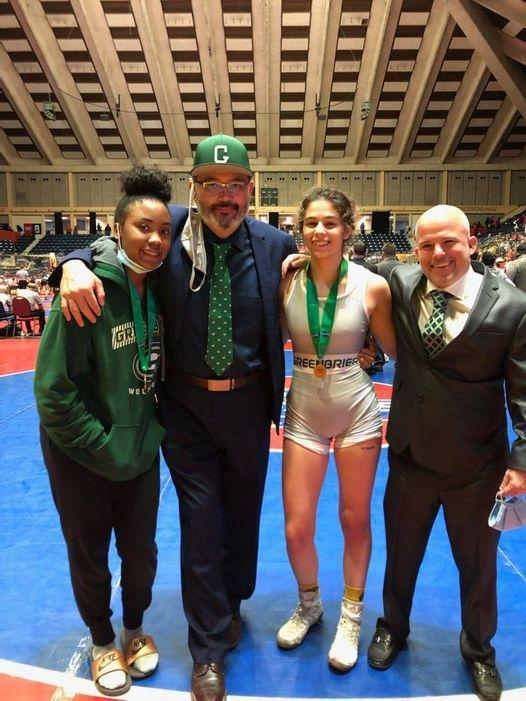 GHS Girls' Wrestling finished 3rd in state.