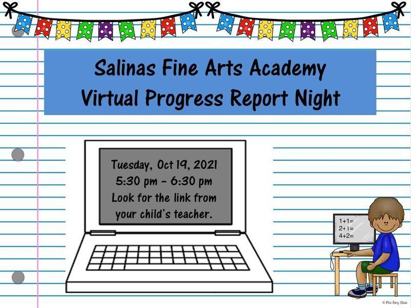Virtual Progress Report Night Featured Photo