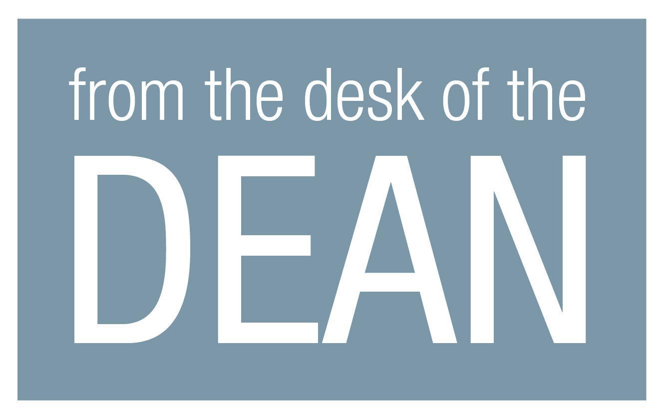 desk of dean