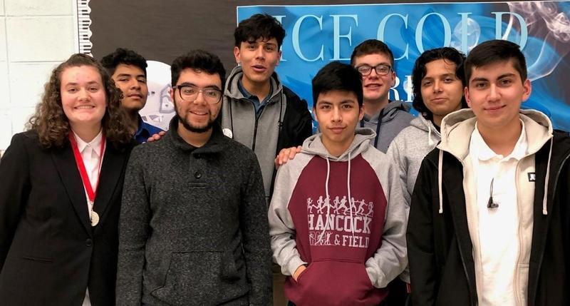 Hancock Debate Team Nov. 17, 2018