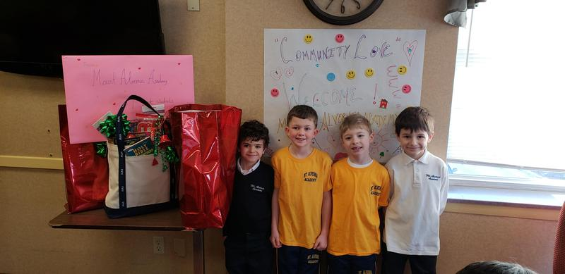 MAA's First Graders Service Project Featured Photo