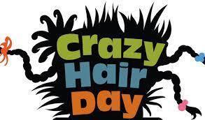 Don't forget CRAZY HAIR DAY Friday the 23rd**** No se olviden del Dia del pelo loco el viernes 23 Thumbnail Image