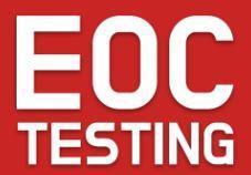 EOC Testing
