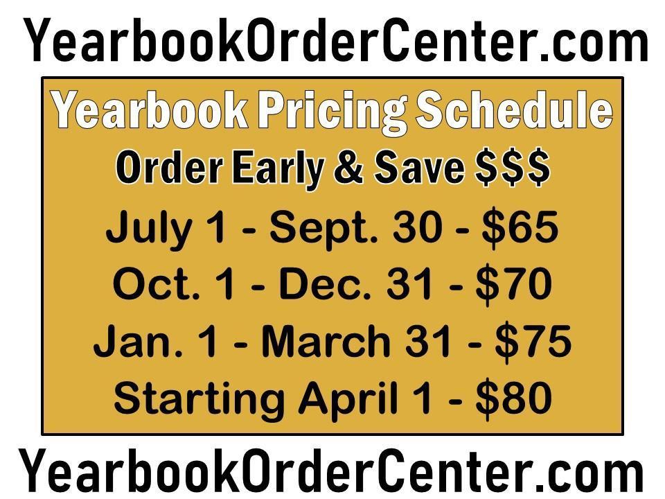 yearbook price