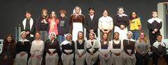 Middle School Theatre Students Earn Distinguished Cast Award