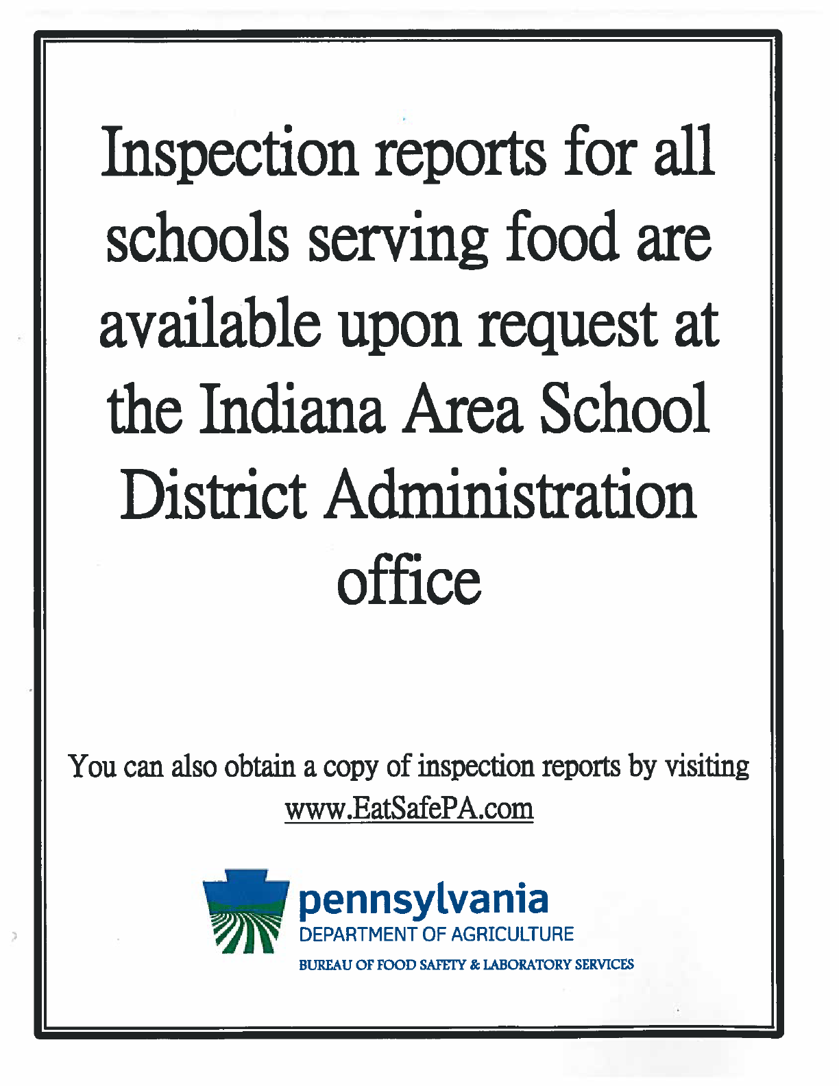 Inspection Report Info