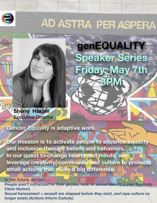 Speaker Series May 7th @ 3pm Featured Photo