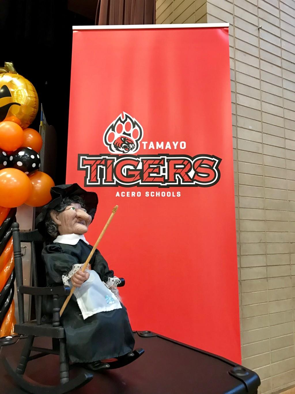 Tamayo Tigers with witch