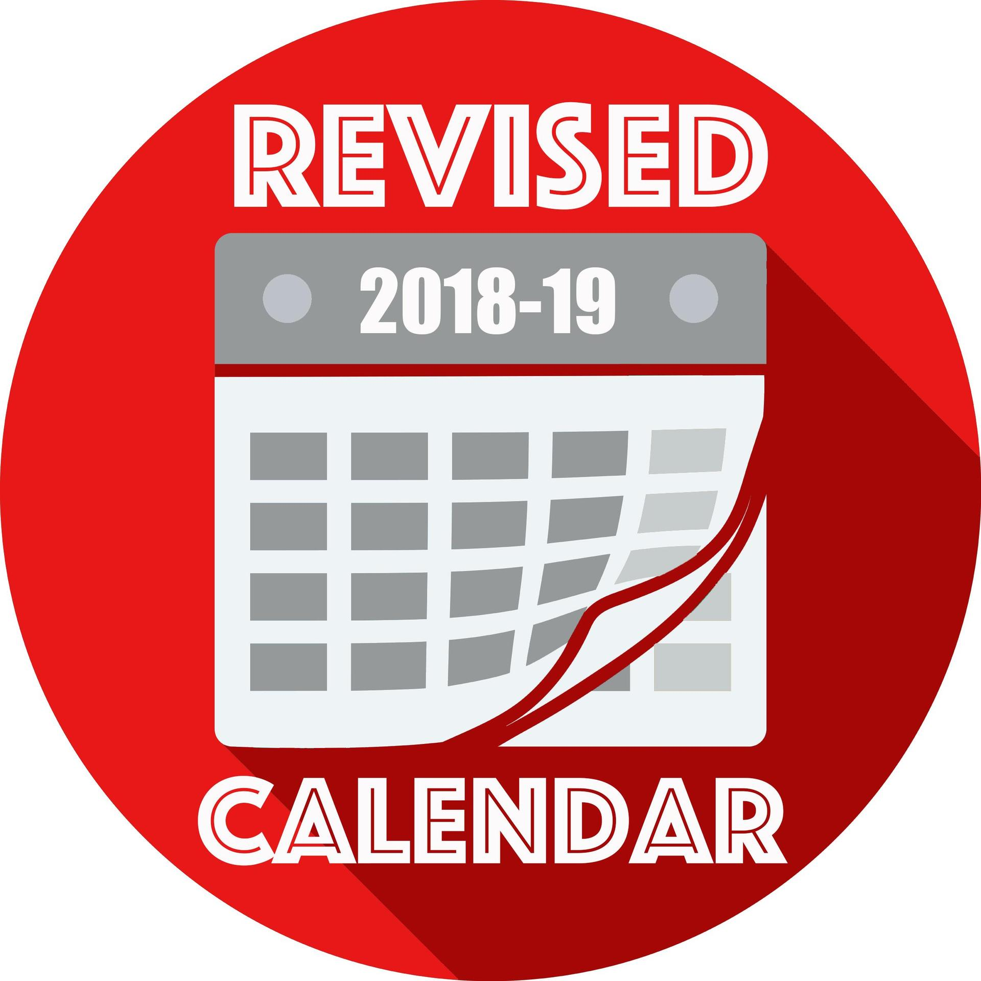 Revised calendar icon