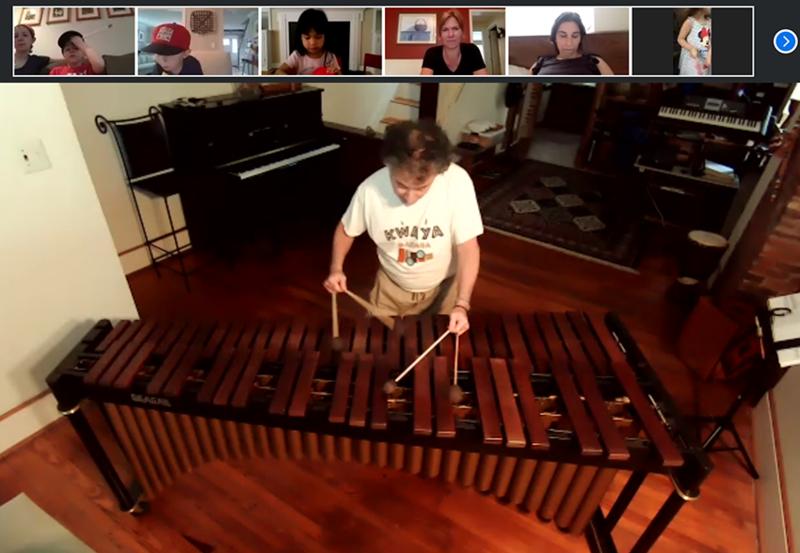 Virtual Marimba Concert Featured Photo