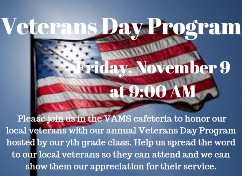 VAMS Veterans Day Program Thumbnail Image