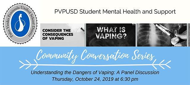 Oct 24: Understanding the Dangers of Vaping: A Panel Discussion Thumbnail Image